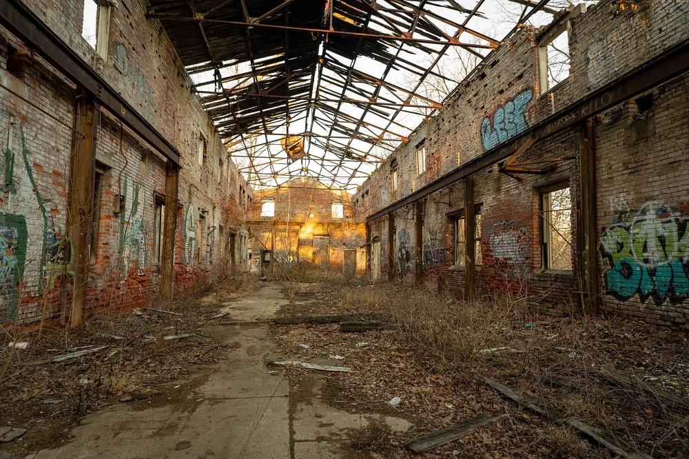 Abandoned Knox Coal Distribution Center