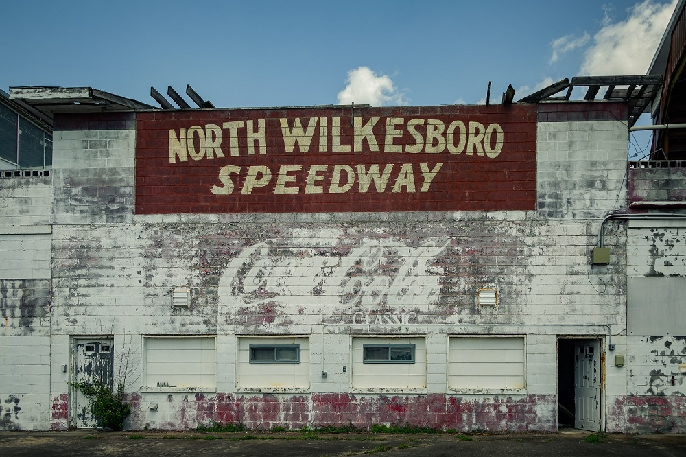 Abandoned North Wilkesboro Speedway