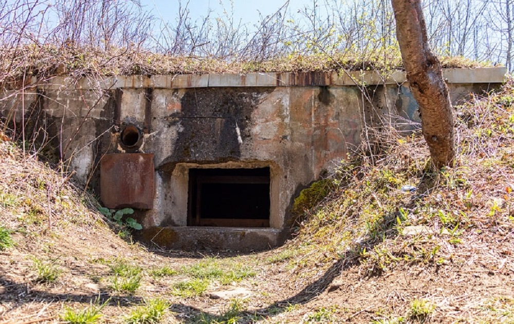 Abandoned Nuclear Jet Bunkers