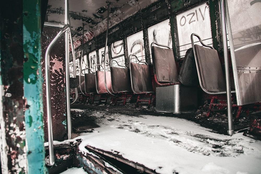 Windber Trolley Graveyard