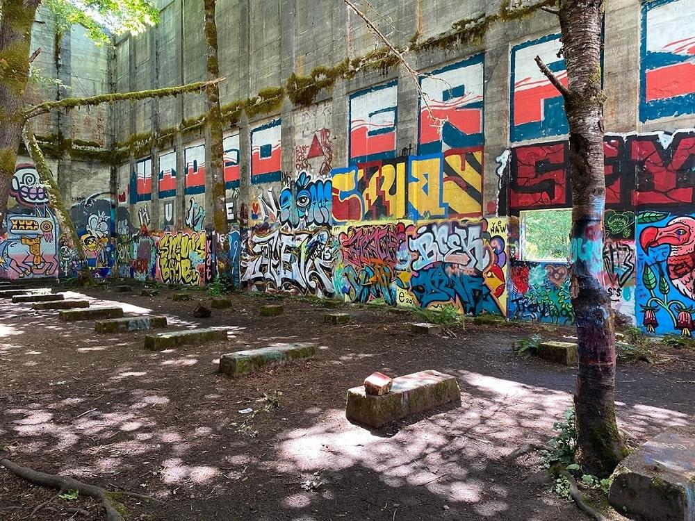 Abandoned Vernonia Mill (Vernonia)