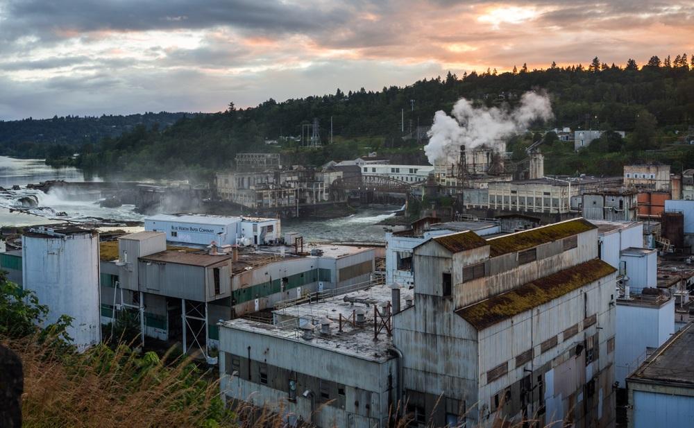 Blue Heron Paper Mill (Willamette Falls)