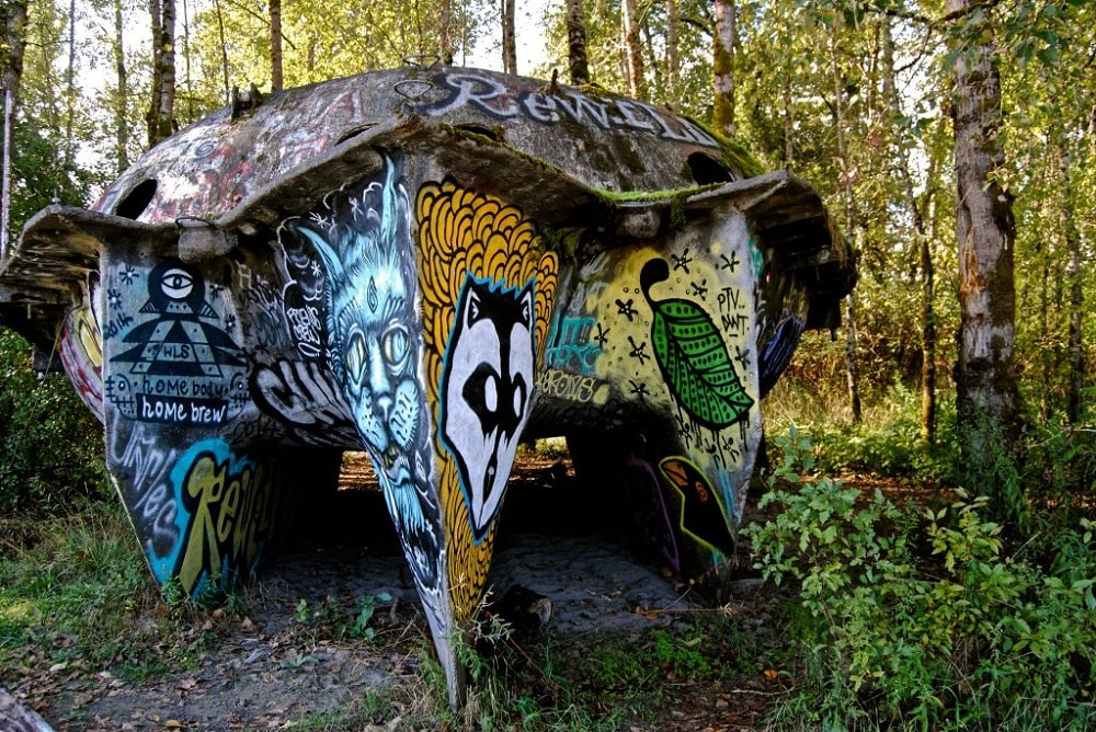 Collins Beach UFO Boat (Portland)