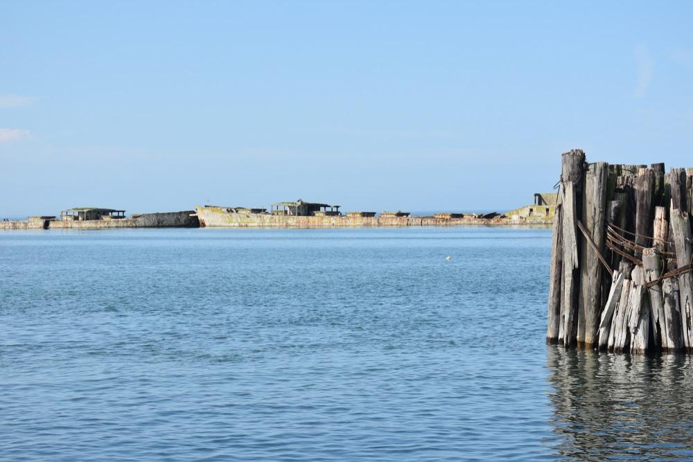 Kiptopeke Breakwater Ships (Cape Charles)