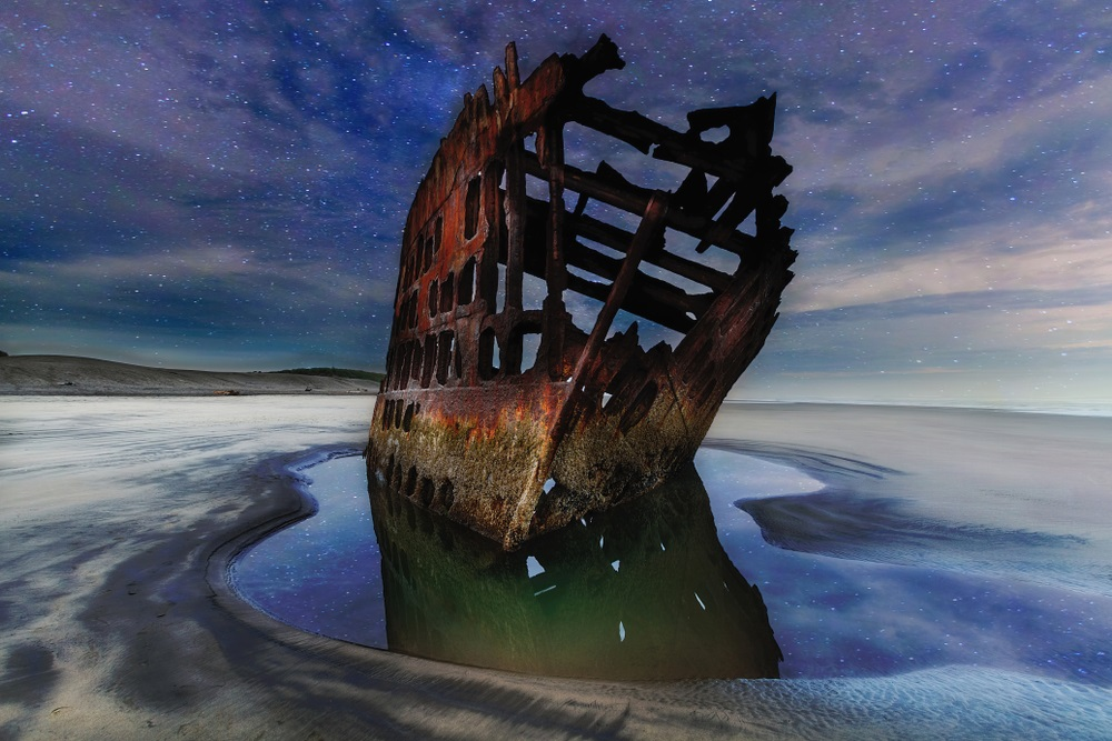 The Wreck of the Peter Iredale (Warrenton)